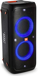 JBL PartyBox 300 High Power Portable Wireless Bluetooth Audio System with Battery - Black