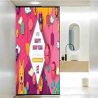 Film autocollant en verre pour salle de bain, salle de réunion, salle de réunion, salle de séjour et salle de réunion