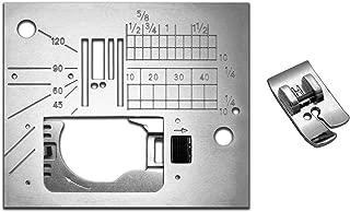Janome 6500P Straight Stitch Needle Plate & Foot 846808013