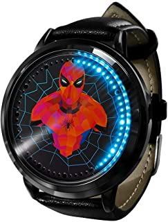 Spiderman horloge Klok Led Touchscreen Waterdicht Digitaal licht Klok Polshorloge Unisex Cosplay Geschenk Nieuwe horloges ...