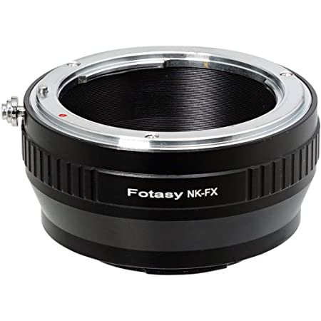 Fotasy Manual Copper Nikon Lens to Fuji X Adapter, Nikon F to X-Mount Converter, Compatible with Fujifilm X-Pro1 X-Pro2 X-Pro3 X-E2 X-E3 X-A5 X-A7 X-A10 X-T1 X-T2 X-T3 X-T10 X-T20 X-T30 X-T100 X-H1