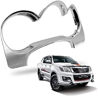 Nonstops Interior Dashboard Meter Cover Trim Chrome Fits Toyota Hilux Vigo Champ 11-14