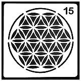 Axing Layering Stencils Hot Stamp DIY Fertigkeit Embossing Mandala Hilfs Layering Stencils Scrapbooking Gemälde-Vorlage (15)