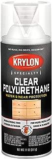 Krylon K07005 Polyurethane Gloss Varnish Paint, 11 Ounce