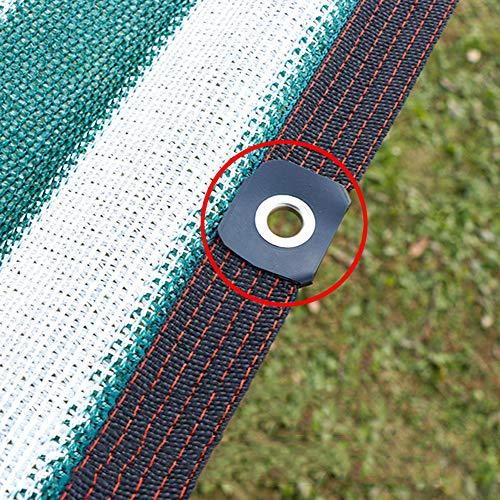 HXLQ - Malla de sombreado, transpirable y calorífica, red de protección solar para techo de invernadero, protección UV, ligera y duradera
