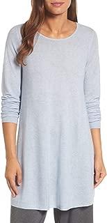 Tencel/Organic Cotton/Silk Jewel Neck Tunic Size L MSRP $228
