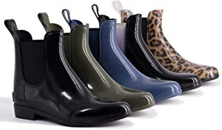 Aus Wooli UGG Water-Resistant Women's Rainboots with Sheepskin Insole Included