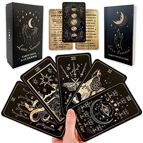 Luna Somnia Tarot Deck with Guidebook & Box - 78...