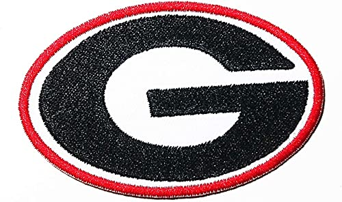 Letter G Logo Patch Embroidered Sew Iron On Patches Badge Bags Hat Jeans Shoes T-Shirt Applique