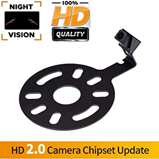 Misayaee Vehicle-Specific Reversing Camera Spare Tire Mount Camera Rear View Backup Camera for for Jeep Wrangler Sahara/Willys YJ/TJ/JK/J8 Wrangler Rubicon/Sahara/Unlimited Sahara 2008-2018