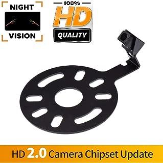 Backup Camera for Car, Waterproof Rear-View License Plate Rear Reverse Parking Camera for Jeep Wrangler JKU/Jeep JK/JKU/Unlimited JK Rubicon/Sahara/Unlimited Sahara 07-18