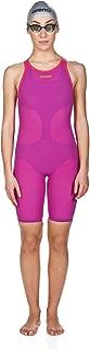 Powerskin Carbon Air FBSL Open Back Women's Racing Suit, Fuchsia, 24