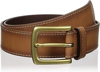 Fossil Men's Remy Allover Emboss Belt, Cognac, 42