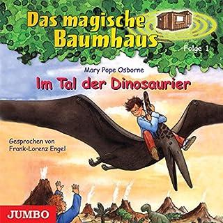 Im Tal der Dinosaurier (Das magische Baumhaus 1)                   Autor:                                                                                                                                 Mary Pope Osborne                               Sprecher:                                                                                                                                 Frank-Lorenz Engel                      Spieldauer: 39 Min.     36 Bewertungen     Gesamt 4,4