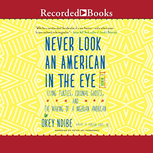 Never Look an American in the Eye audiobook cover art