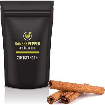 250g Zimtstangen Ganz Cinnamon Premium Naturlich Vom Hanse Pepper Gewurzkontor Gourmet Serie Amazon De Lebensmittel Getranke