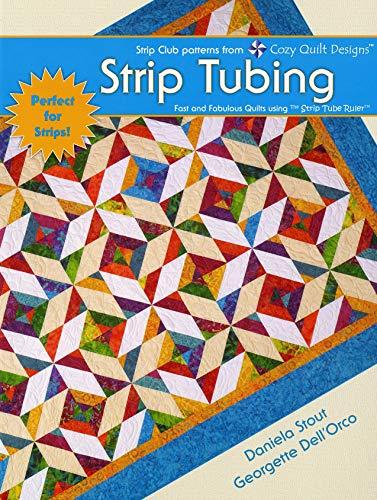 Cozy Quilt Designs CQD 04006 Strip Tubing Buch, baumwolle