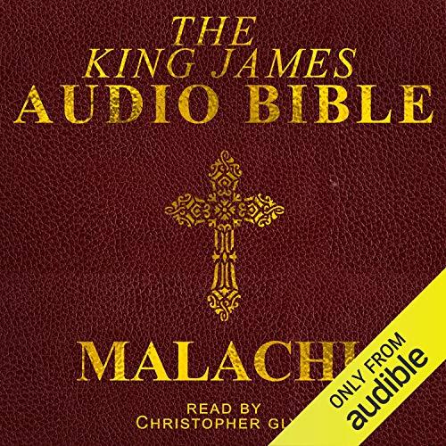 Malachi audiobook cover art