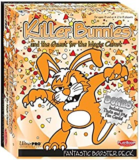 Playroom Entertainment Killer Bunnies Fantastic Booster Board Games