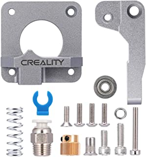 Official Creality 3D All Metal MK-8 Extruder Feeder Drive Aluminum 1.75mm for CR-10 Ender 3 CR-10S Gray