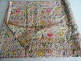 Tribal Asian Textiles 19 - Colcha, diseño de cachemira, tamaño 228,6 x 274,32 cm, multicolor