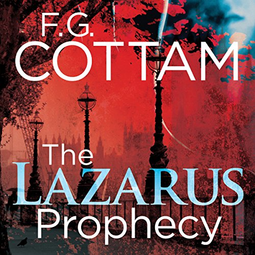 The Lazarus Prophecy audiobook cover art