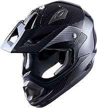 Adult Motocross Helmet Off Road MX BMX ATV Dirt Bike Mechanic Carbon Fiber Black