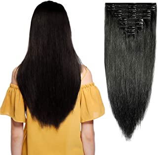 indian remy clip on hair extensions