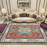 A Prueba De Polvo alfombras Salon Grandes Estampado Envejecido...