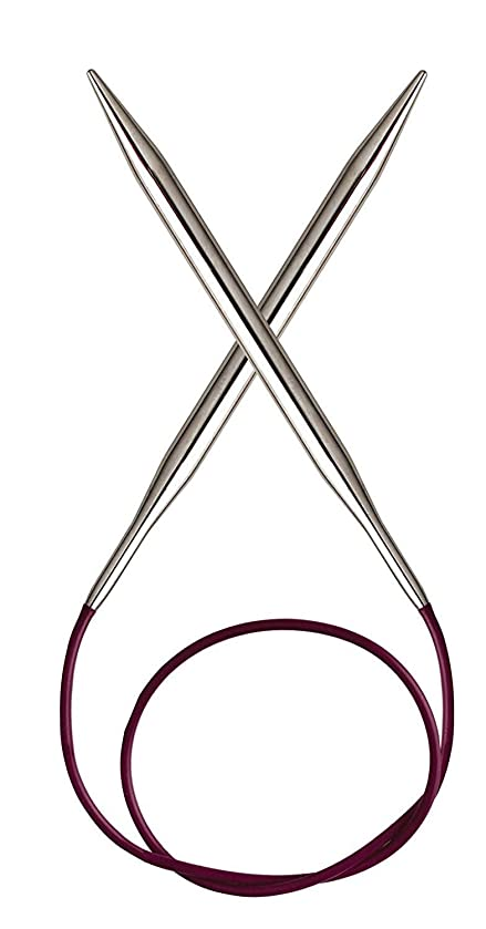 KnitPro KP10351 | Nova Metal Fixed Circular Knitting Needle | 3?mm x 40cm