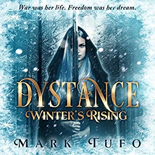 Dystance audiobook cover art