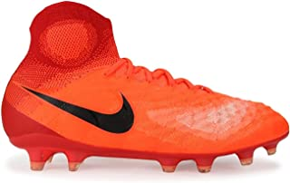 Kids Magista Obra II FG Total Crimson/Black/University Red Soccer Shoes