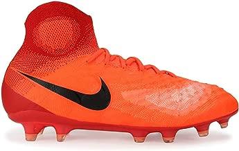 Nike Kids Magista Obra II FG Total Crimson/Black/University Red Soccer Shoes