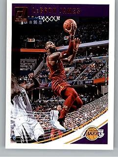 2660e887928 2018-19 Donruss  94 LeBron James Los Angeles Lakers NBA Basketball Trading  Card