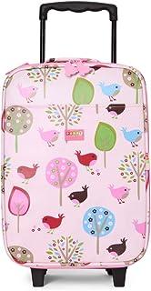 Penny Scallan Wheelie Bag, Chirpy Bird Trolley Suitcase (2Wheels), Chirpy Bird
