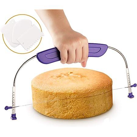 ilauke Outil de Pâtisserie Lissoir,Cuisson Unité Outils Wipe (Coupe-Gâteau)