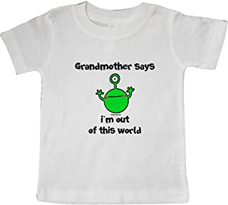 Flossy and Jim inktastic Cousin Out of This World Baby T-Shirt