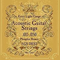 ARIA AGS-200XL アコースティックギター弦×12セット