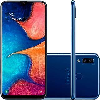 Smartphone Samsung Galaxy A20, 32Gb, Tela 6.4'', Azul, Sm-A205Gzbjzto