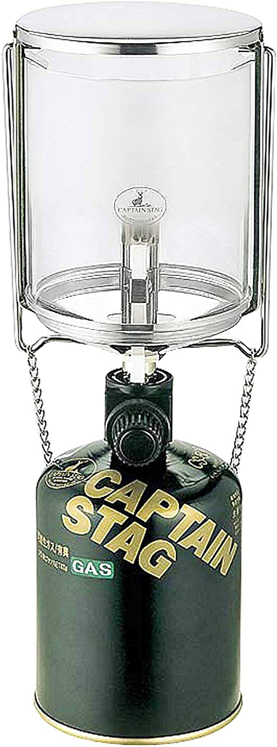 Captain Stagg (CAPTAIN STAG) field gas lantern L piezoelectric igniter with UF-8