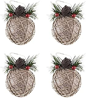 twine christmas tree decorations