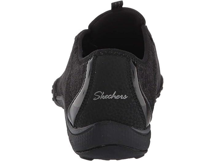 Skechers Womens Breathe-Easy Opportuknity Slip On Sports Navy