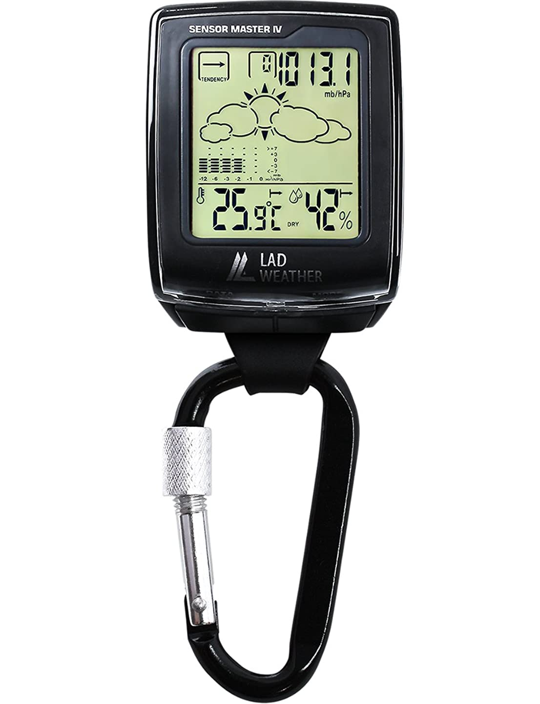 羊飼い操作可能鮫[ラドウェザー]アウトドア時計 高度 気圧 温度 湿度 天気 デジタルコンパス スポーツウォッチ