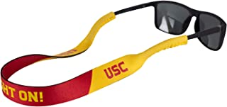 Ukes NCAA Durable & Soft Eyewear Retainer Designed with Floating Neoprene Material (USC - Fight On!)…