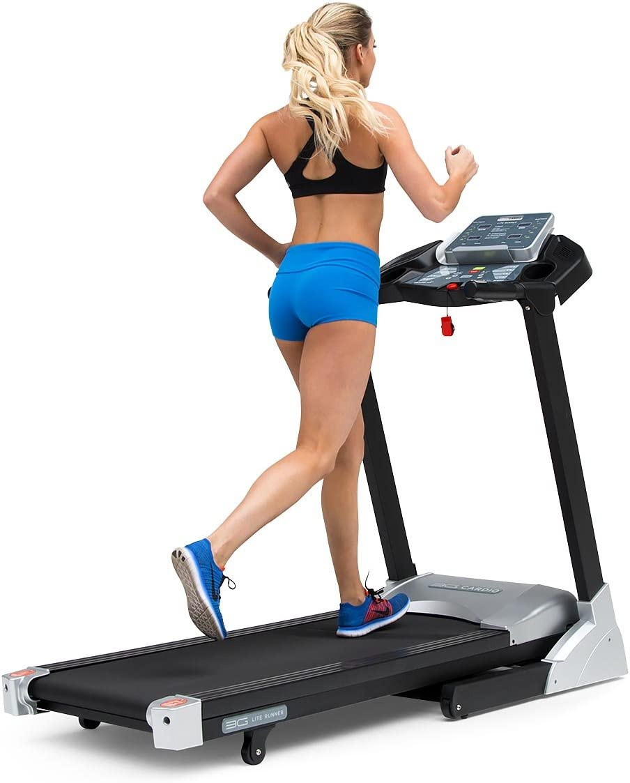 3G Cardio Lite Runner Treadmill - 300 LB latest Dedication Capacity S Space User