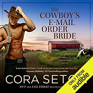 The Cowboy's E-Mail Order Bride cover art