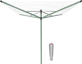 Brabantia 290442 Séchoir, Acier Inoxydable, Vert Feuille, 50m