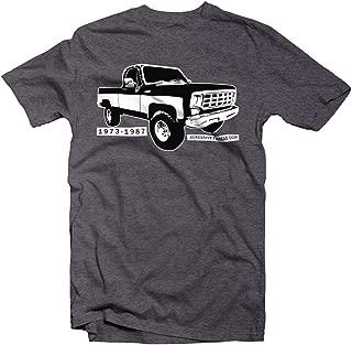 Aggressive Thread Square Body Chevy GMC 1973-1987 Squarebody T-Shirt