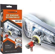 Visbella Kit de reparación de Sistema de restauración de Faros Delanteros, Kit de reparación de Luces para Coche … (Automatic)