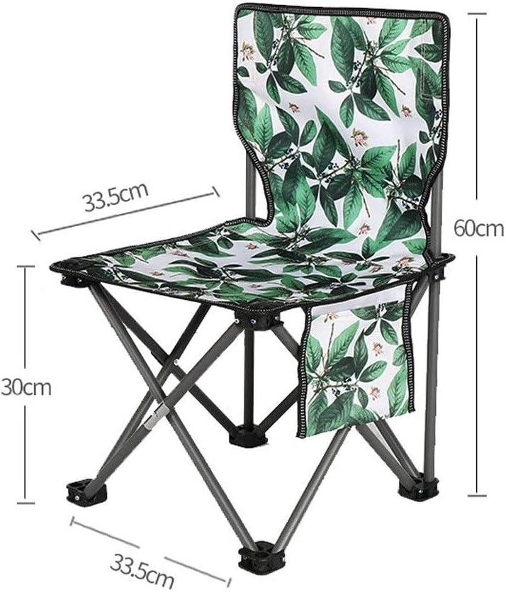 Chaise Longues En Plein Air Camping Pliant Les Chaises Ultra-léger Portable Tabouret Peinture La Pêche Siège Du Festival, 6 Couleurs (Color : E) E